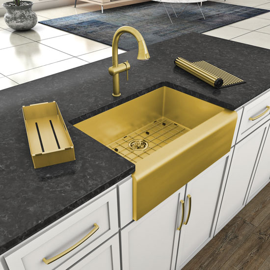 Faucet Setup - Brass