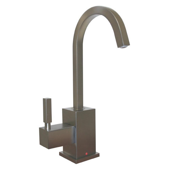 Whitehaus - Forever Hot Kitchen Faucet, Brushed Nickel