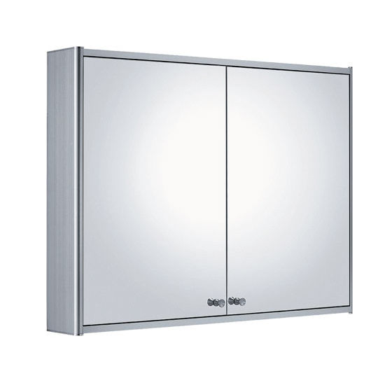 Whitehaus Double Two Sided Mirrored Door Medicine Cabinet