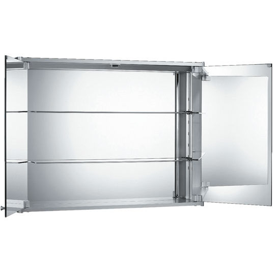 Whitehaus WH-WHCAR-48 Double Two Sided Mirrored Door Medicine ...