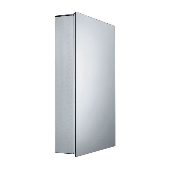 Whitehaus Single Two Sided Mirrored Door Medicine Cabinet