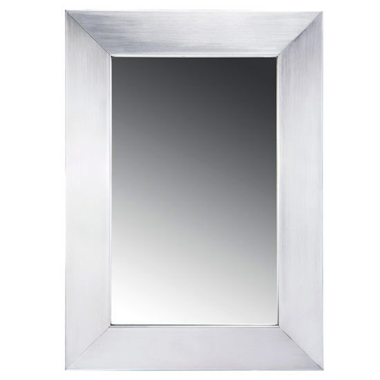 Whitehaus Noah Collection Stainless Steel Framed Mirror