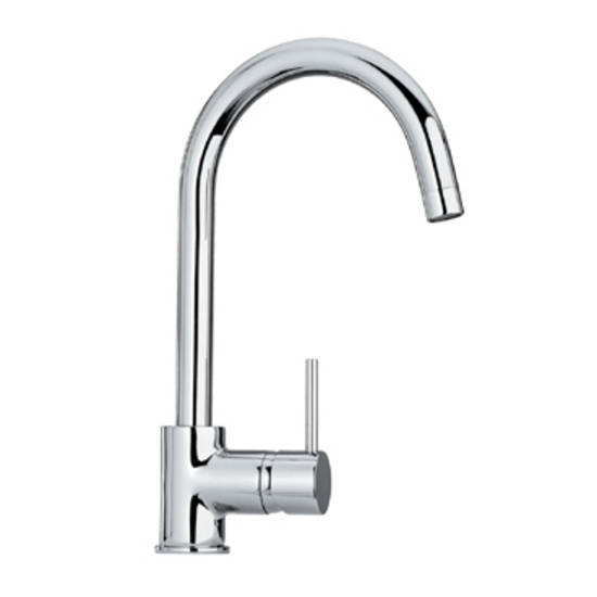 Whitehaus Single Hole Lever Kitchen Faucet