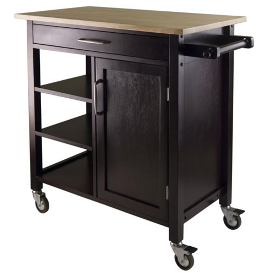 Winsome Wood Mali Kitchen Cart