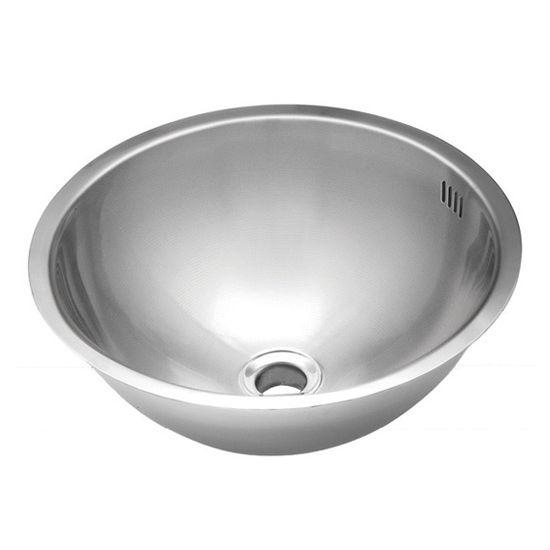 Wells Sinkware Jazz Series 20 Gauge Stainless Steel Single Bowl Undermount Lavatory Sink
