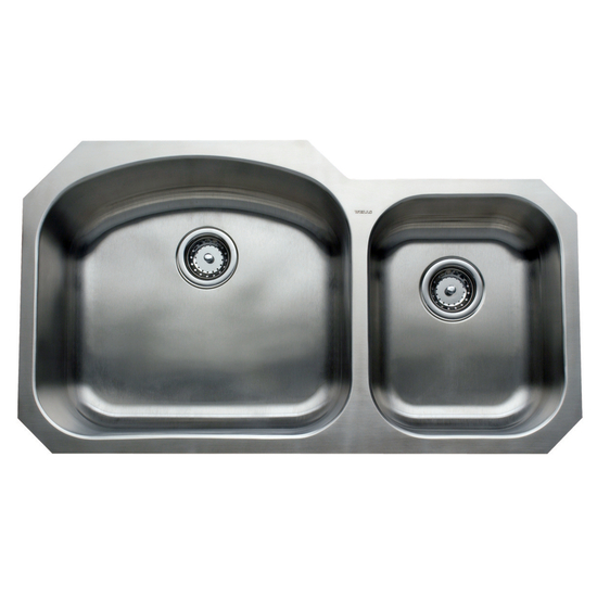 Kitchen Sinks - Chicago Series Stainless Steel Double Bowl ...