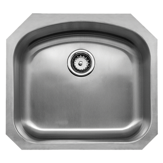 Kitchen Sinks - Chicago Series Stainless Steel Single Bowl ...