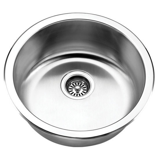 Jazz Series Stainless Steel Single Bowl Undermount/Topmount Sink
