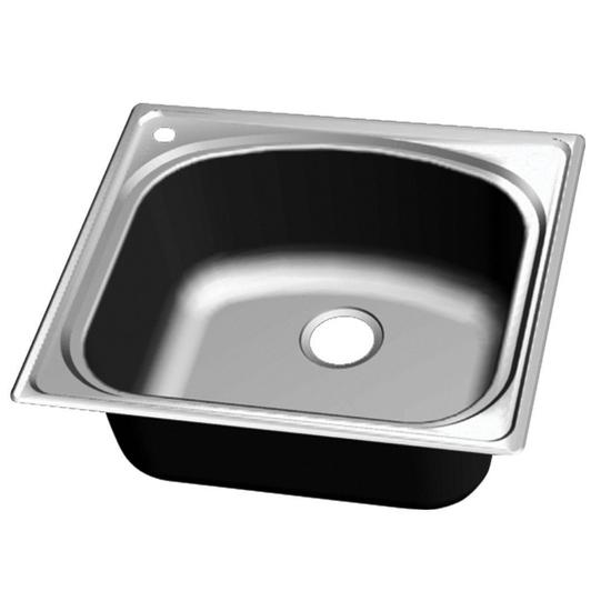 Superieur Wells Sinkware Chicago Series Single Bowl Topmount 18 Gauge Stainless Steel  Sink