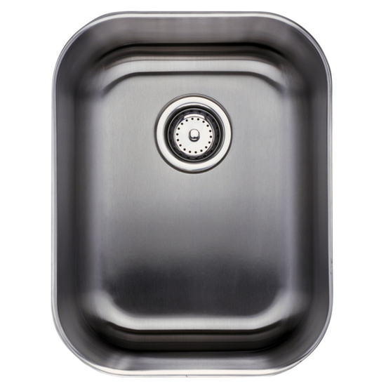Komponents Series Stainless Steel Single Bowl Undermount Sink