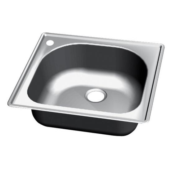 Craftsmen Series Stainless Steel Single Bowl Topmount Sink