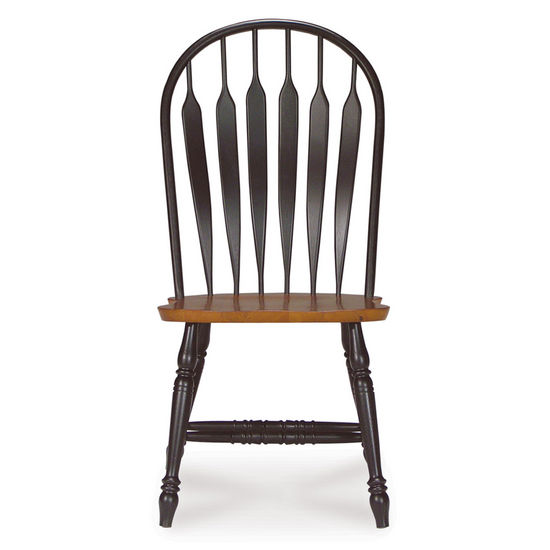 International Concepts Arrowback Chair in Black finish