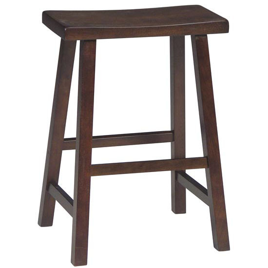 Bar Stools 24 And 29 Inch Saddleseat Solid Wood