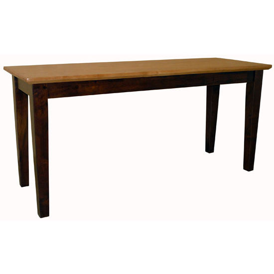 Shaker Style Wood Bench By International Concepts