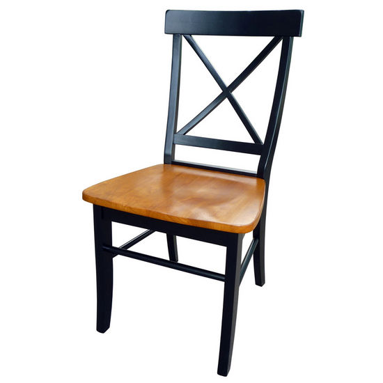 International Concepts X-Back Chairs