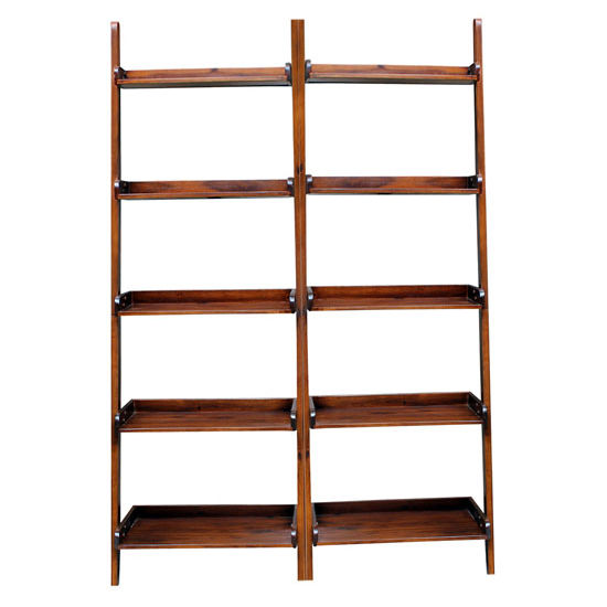 2 Shelving Units, each with 5 Shelves