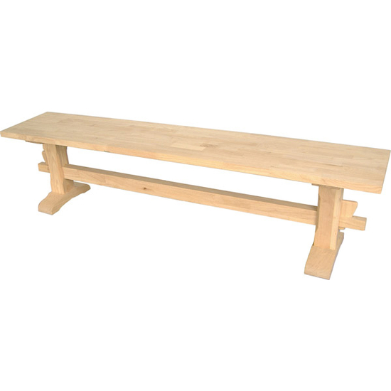 International Concepts - Trestle Bench