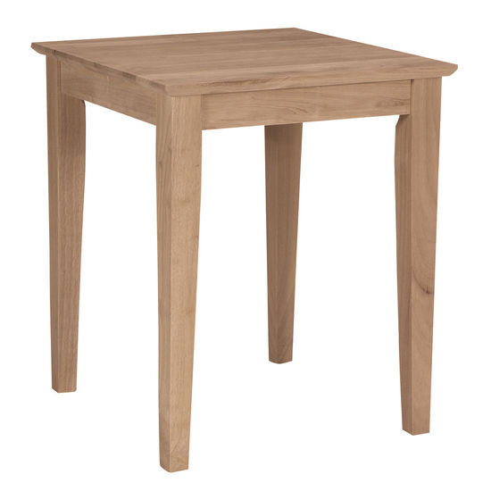 International Concepts - Tall Shaker End Table