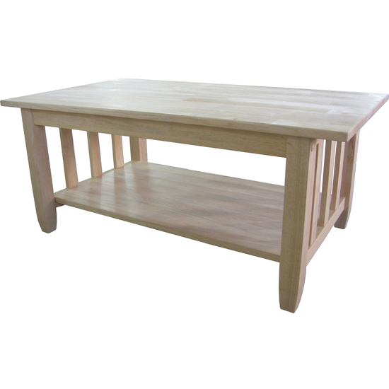 International Concepts - Mission Tall Coffee Table