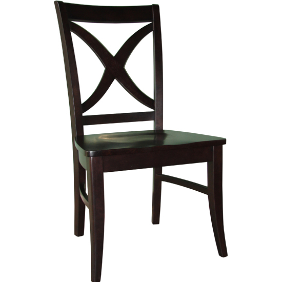 International Concepts - Salerno Chairs w/Wood Seat