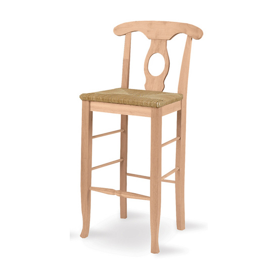 "International Concepts - 24"" or 29"" Empire Stool, 17 3/4"" W x 15 1/2"" D x 40 1/4"" H"