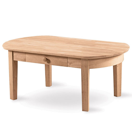 International Concepts Phillips Oval Coffee Table