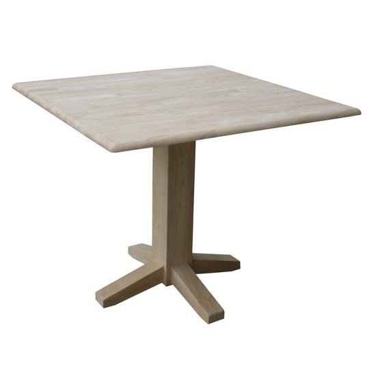"""Square Table, 38""""W x 36""""D x 30""""H"""