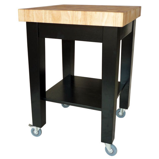 24 Kitchen Island: 24 Inch Kitchen Island Available In Unfinished Or Black