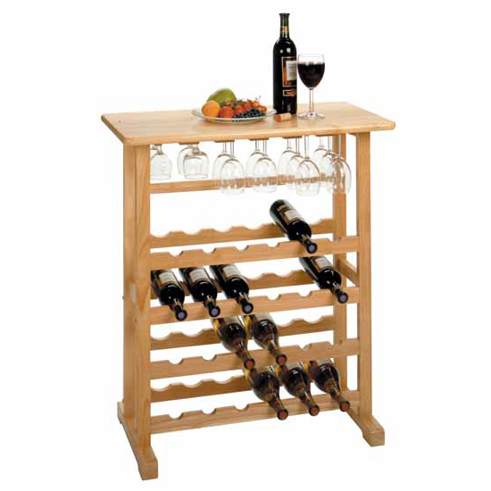 Wine Rack & Glass Holder