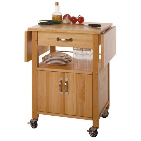 kitchen islands carts drop leaf kitchen cart ws 84920 by winsome wood. Black Bedroom Furniture Sets. Home Design Ideas