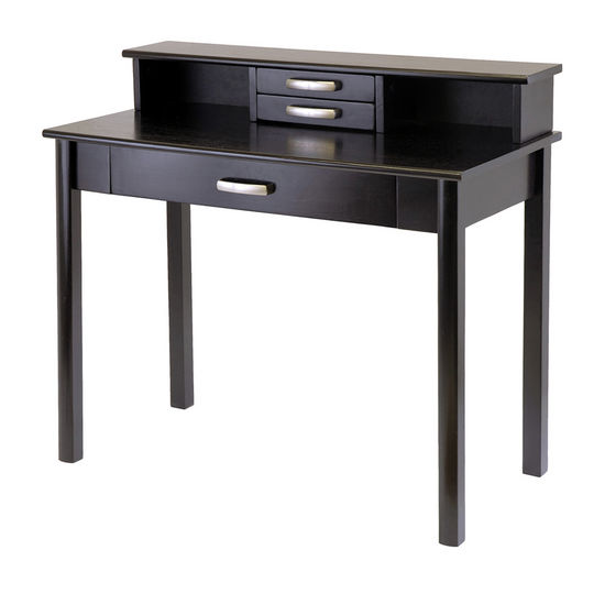 Liso Computer Desk with Hutch