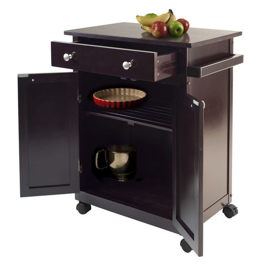Winsome Wood Savannah Kitchen Cart