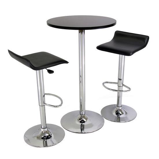Pub Set w/ Table & 2 Airlift Stools