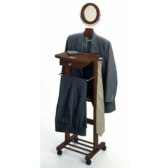 Winsome Wood Valet Stand & Suit Hanger WS-94155