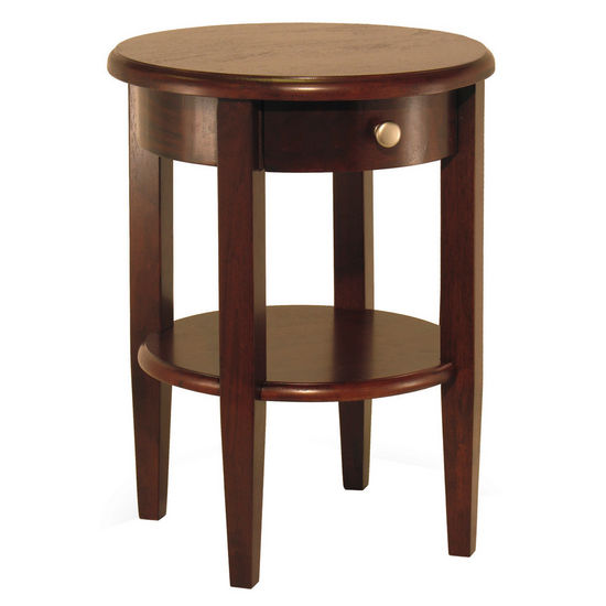 "22-1/2"" Round End Table"