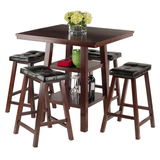 WS 94506 Orlando Collection 5 Piece Dining Set High Table  : ws 945062 orlandoprop1 s3 from www.kitchensource.com size 550 x 550 jpeg 44kB