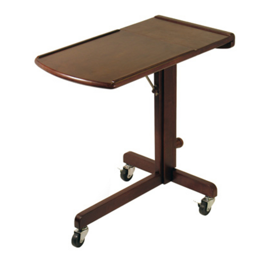 Adjustable Laptop Cart by Winsome Wood