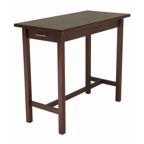 Kitchen Island Table w/ 2 Drawers