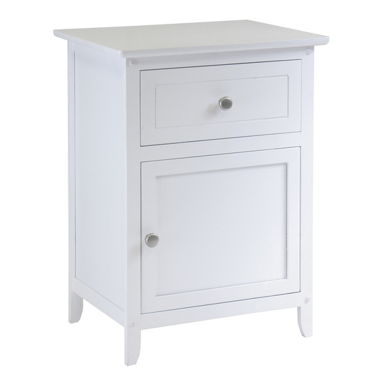 Night Stand/ Accent Table White Finish