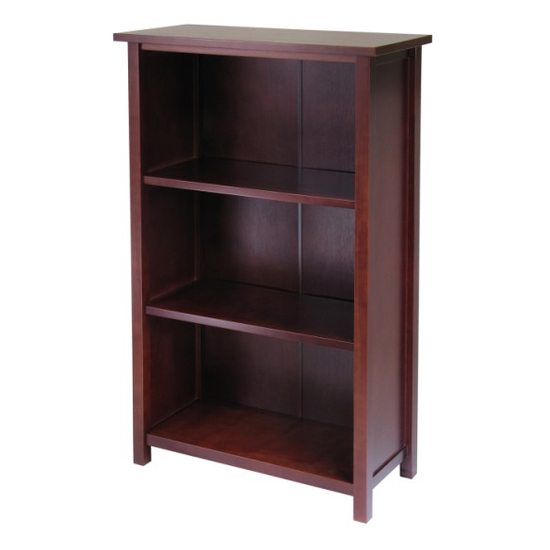 Winsome Wood Milan Storage Shelf/Bookcase