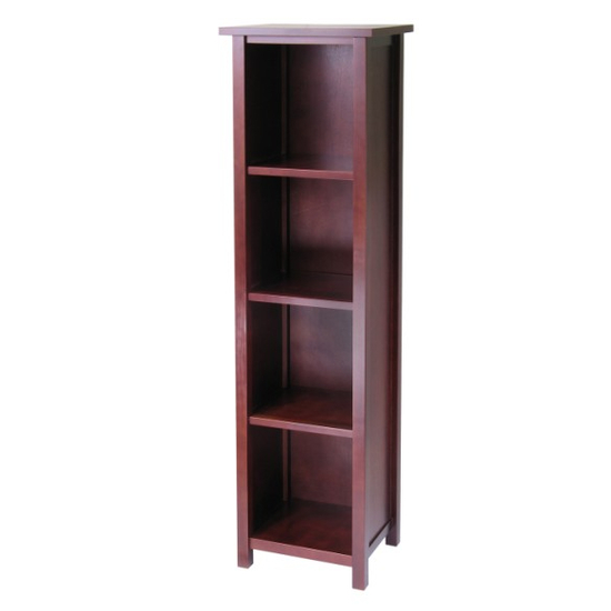 Winsome Wood Milan Storage Shelf/Bookcase - 5-Tier