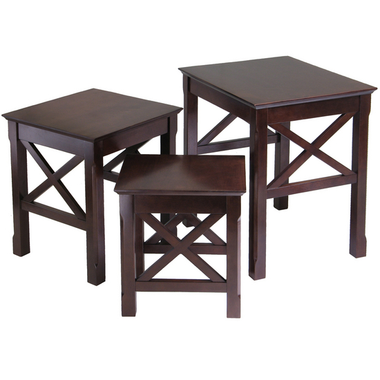 Winsome Wood Xola 3-Pc. Nesting Table