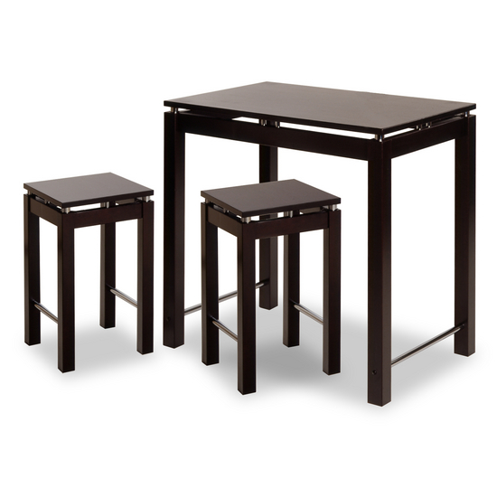 Kitchen Island Table & Stool Set