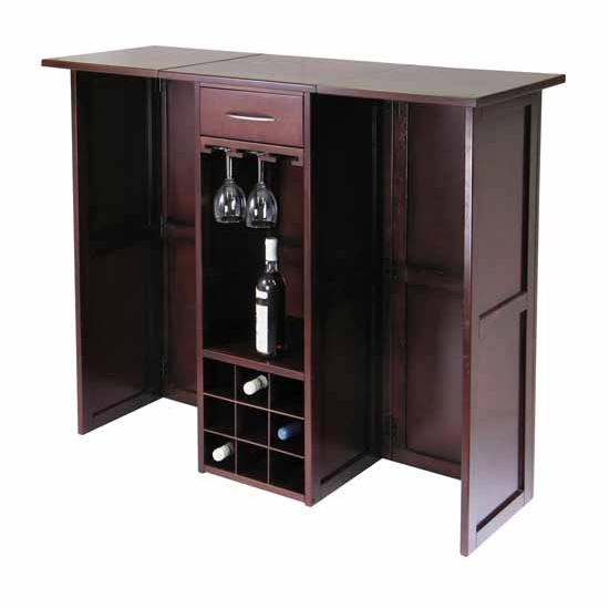 Wine Bar w/Expandable Counter