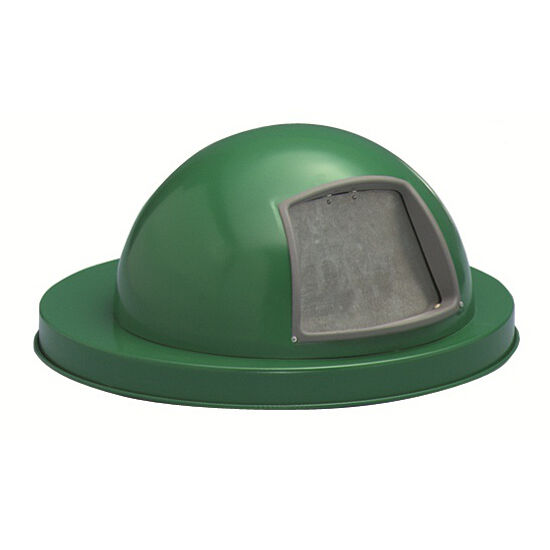 Drum Accessories Galvanized Dome Top Covers Flat Top