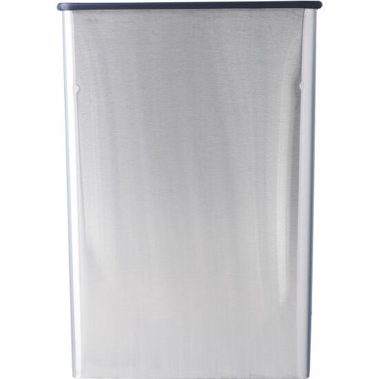Trash Cans Metal 22 Gallon Stainless Steel Rectangular