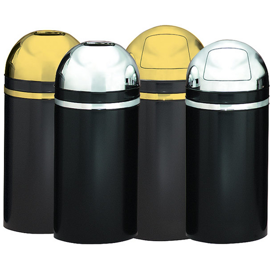 Monarch Series Dome & Open Top Receptacles