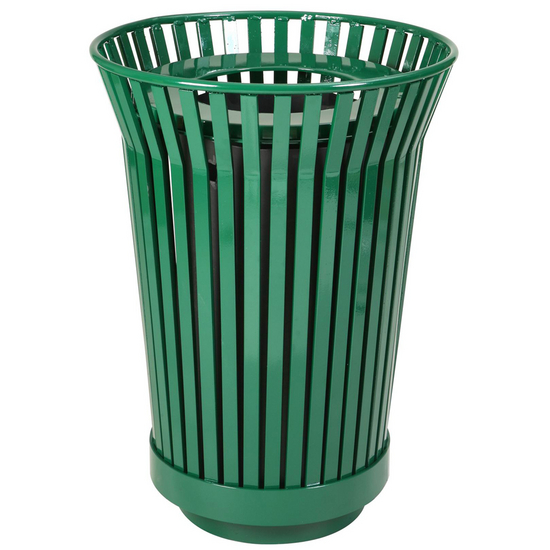 Witt River City Collection Outdoor Trash Receptacle
