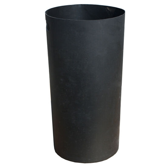 Trash Cans Witt Smb Black Plastic Liner Bins For Witt