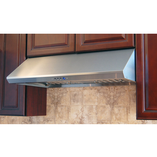 Range Hoods - RA-34L Series Under Cabinet Range Hood with Brushed ...